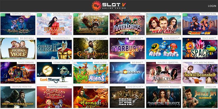 slot-v games